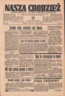 Nasza Chodzież: organ poświęcony obronie interesów narodowych na zachodnich ziemiach Polski 1937.02.17 R.8 Nr38