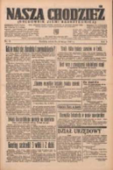 Nasza Chodzież: organ poświęcony obronie interesów narodowych na zachodnich ziemiach Polski 1937.02.20 R.8 Nr41