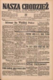 Nasza Chodzież: organ poświęcony obronie interesów narodowych na zachodnich ziemiach Polski 1937.02.28 R.8 Nr48