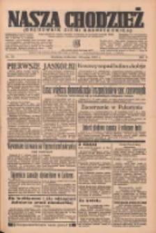 Nasza Chodzież: organ poświęcony obronie interesów narodowych na zachodnich ziemiach Polski 1937.03.10 R.8 Nr56