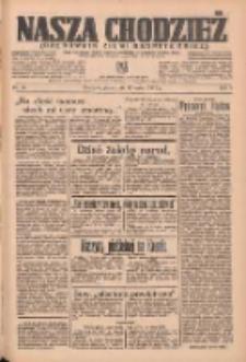 Nasza Chodzież: organ poświęcony obronie interesów narodowych na zachodnich ziemiach Polski 1937.03.12 R.8 Nr58