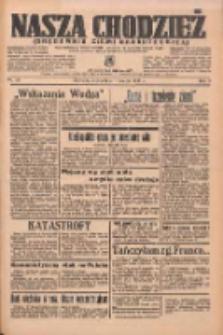 Nasza Chodzież: organ poświęcony obronie interesów narodowych na zachodnich ziemiach Polski 1937.03.13 R.8 Nr59