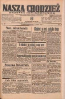 Nasza Chodzież: organ poświęcony obronie interesów narodowych na zachodnich ziemiach Polski 1937.03.14 R.8 Nr60
