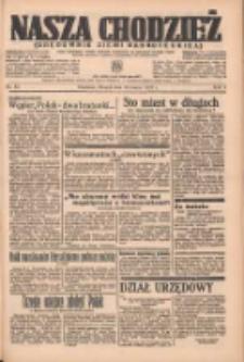 Nasza Chodzież: organ poświęcony obronie interesów narodowych na zachodnich ziemiach Polski 1937.03.16 R.8 Nr61