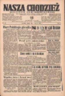 Nasza Chodzież: organ poświęcony obronie interesów narodowych na zachodnich ziemiach Polski 1937.03.17 R.8 Nr62