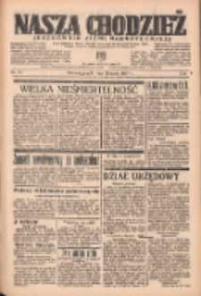 Nasza Chodzież: organ poświęcony obronie interesów narodowych na zachodnich ziemiach Polski 1937.03.19 R.8 Nr64