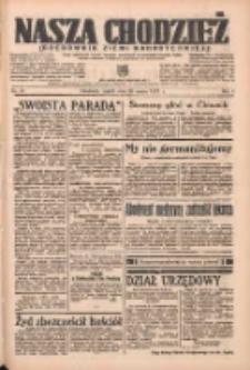 Nasza Chodzież: organ poświęcony obronie interesów narodowych na zachodnich ziemiach Polski 1937.03.26 R.8 Nr70