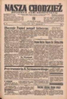 Nasza Chodzież: organ poświęcony obronie interesów narodowych na zachodnich ziemiach Polski 1937.04.07 R.8 Nr79