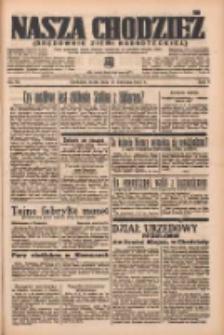 Nasza Chodzież: organ poświęcony obronie interesów narodowych na zachodnich ziemiach Polski 1937.04.14 R.8 Nr85