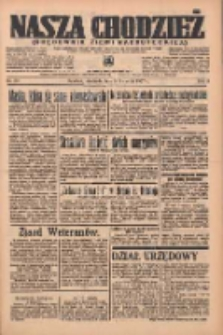 Nasza Chodzież: organ poświęcony obronie interesów narodowych na zachodnich ziemiach Polski 1937.04.18 R.8 Nr89