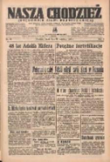 Nasza Chodzież: organ poświęcony obronie interesów narodowych na zachodnich ziemiach Polski 1937.04.21 R.8 Nr91