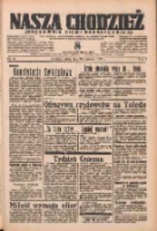 Nasza Chodzież: organ poświęcony obronie interesów narodowych na zachodnich ziemiach Polski 1937.04.24 R.8 Nr94