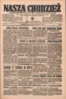 Nasza Chodzież: organ poświęcony obronie interesów narodowych na zachodnich ziemiach Polski 1937.04.25 R.8 Nr95