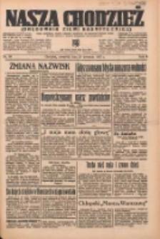 Nasza Chodzież: organ poświęcony obronie interesów narodowych na zachodnich ziemiach Polski 1937.04.29 R.8 Nr98