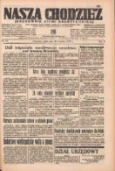 Nasza Chodzież: organ poświęcony obronie interesów narodowych na zachodnich ziemiach Polski 1937.04.30 R.8 Nr99