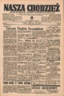 Nasza Chodzież: organ poświęcony obronie interesów narodowych na zachodnich ziemiach Polski 1937.05.05 R.8 Nr102