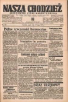 Nasza Chodzież: organ poświęcony obronie interesów narodowych na zachodnich ziemiach Polski 1937.05.14 R.8 Nr109