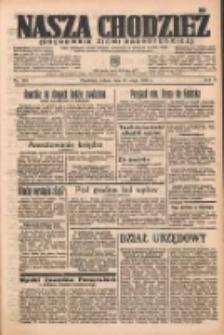 Nasza Chodzież: organ poświęcony obronie interesów narodowych na zachodnich ziemiach Polski 1937.05.15 R.8 Nr110