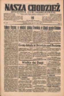 Nasza Chodzież: organ poświęcony obronie interesów narodowych na zachodnich ziemiach Polski 1937.05.19 R.8 Nr112