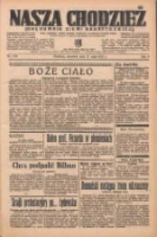 Nasza Chodzież: organ poświęcony obronie interesów narodowych na zachodnich ziemiach Polski 1937.05.27 R.8 Nr119