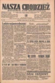 Nasza Chodzież: organ poświęcony obronie interesów narodowych na zachodnich ziemiach Polski 1937.05.29 R.8 Nr120