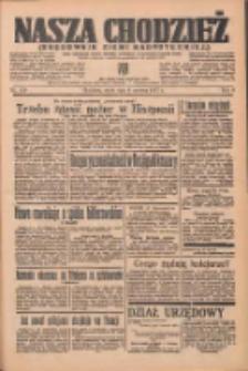 Nasza Chodzież: organ poświęcony obronie interesów narodowych na zachodnich ziemiach Polski 1937.06.09 R.8 Nr129
