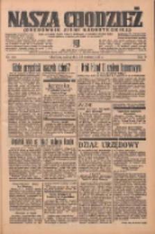 Nasza Chodzież: organ poświęcony obronie interesów narodowych na zachodnich ziemiach Polski 1937.06.12 R.8 Nr132