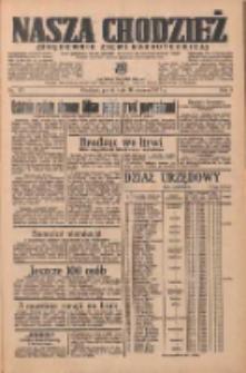 Nasza Chodzież: organ poświęcony obronie interesów narodowych na zachodnich ziemiach Polski 1937.06.18 R.8 Nr137