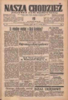 Nasza Chodzież: organ poświęcony obronie interesów narodowych na zachodnich ziemiach Polski 1937.06.25 R.8 Nr143