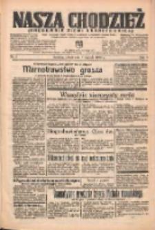 Nasza Chodzież: organ poświęcony obronie interesów narodowych na zachodnich ziemiach Polski 1938.01.08 R.9 Nr5