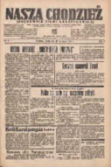 Nasza Chodzież: organ poświęcony obronie interesów narodowych na zachodnich ziemiach Polski 1938.01.12 R.9 Nr8