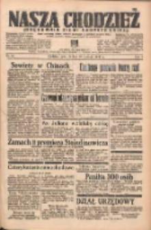 Nasza Chodzież: organ poświęcony obronie interesów narodowych na zachodnich ziemiach Polski 1938.01.20 R.9 Nr15