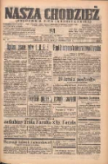 Nasza Chodzież: organ poświęcony obronie interesów narodowych na zachodnich ziemiach Polski 1938.01.22 R.9 Nr17