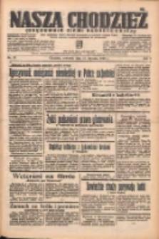 Nasza Chodzież: organ poświęcony obronie interesów narodowych na zachodnich ziemiach Polski 1938.01.27 R.9 Nr21