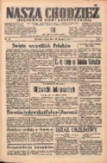 Nasza Chodzież: organ poświęcony obronie interesów narodowych na zachodnich ziemiach Polski 1938.01.29 R.9 Nr23