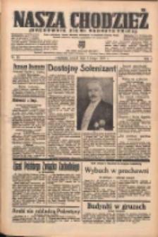 Nasza Chodzież: organ poświęcony obronie interesów narodowych na zachodnich ziemiach Polski 1938.02.01 R.9 Nr25