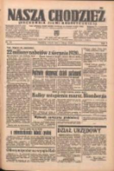 Nasza Chodzież: organ poświęcony obronie interesów narodowych na zachodnich ziemiach Polski 1938.02.05 R.9 Nr28