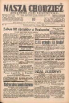 Nasza Chodzież: organ poświęcony obronie interesów narodowych na zachodnich ziemiach Polski 1938.02.08 R.9 Nr30