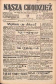 Nasza Chodzież: organ poświęcony obronie interesów narodowych na zachodnich ziemiach Polski 1938.02.11 R.9 Nr33