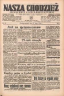 Nasza Chodzież: organ poświęcony obronie interesów narodowych na zachodnich ziemiach Polski 1938.02.17 R.9 Nr38