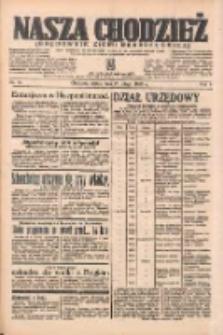 Nasza Chodzież: organ poświęcony obronie interesów narodowych na zachodnich ziemiach Polski 1938.02.25 R.9 Nr45
