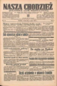 Nasza Chodzież: organ poświęcony obronie interesów narodowych na zachodnich ziemiach Polski 1938.03.01 R.9 Nr48