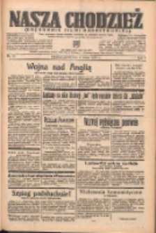Nasza Chodzież: organ poświęcony obronie interesów narodowych na zachodnich ziemiach Polski 1938.03.04 R.9 Nr51