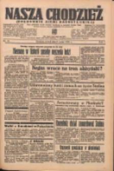 Nasza Chodzież: organ poświęcony obronie interesów narodowych na zachodnich ziemiach Polski 1938.03.08 R.9 Nr54