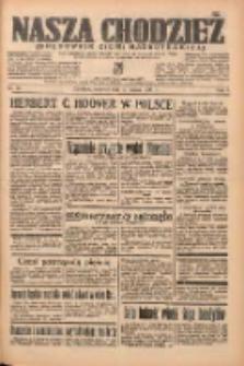 Nasza Chodzież: organ poświęcony obronie interesów narodowych na zachodnich ziemiach Polski 1938.03.10 R.9 Nr56