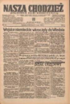 Nasza Chodzież: organ poświęcony obronie interesów narodowych na zachodnich ziemiach Polski 1938.03.15 R.9 Nr60