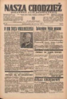Nasza Chodzież: organ poświęcony obronie interesów narodowych na zachodnich ziemiach Polski 1938.03.18 R.9 Nr63