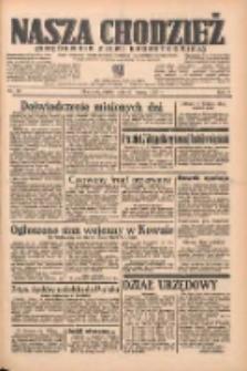 Nasza Chodzież: organ poświęcony obronie interesów narodowych na zachodnich ziemiach Polski 1938.03.25 R.9 Nr69