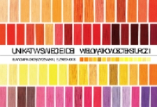 Unikat w świecie idei : część I : wielowątkowość tekstur