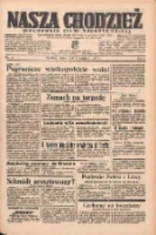 Nasza Chodzież: organ poświęcony obronie interesów narodowych na zachodnich ziemiach Polski 1938.04.01 R.9 Nr75